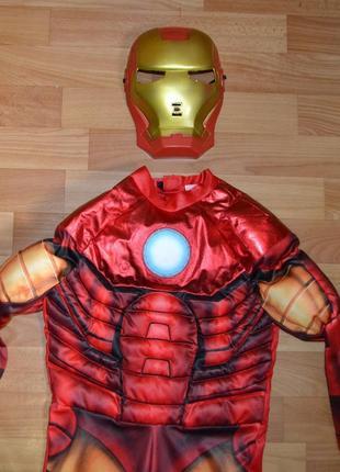 Карнавальный костюм железный человек на 6-7 лет