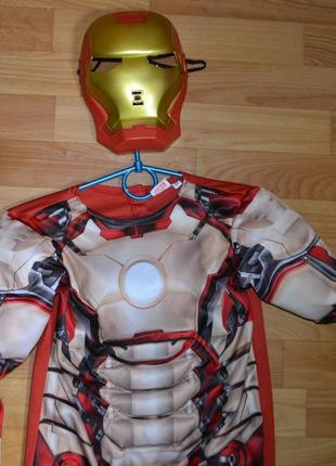 Карнавальный костюм железный человек на 6-7 лет, 7-8 лет