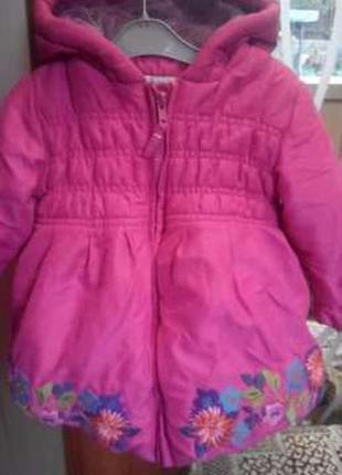 Яркая курточка gohn lewis с вышивкой
