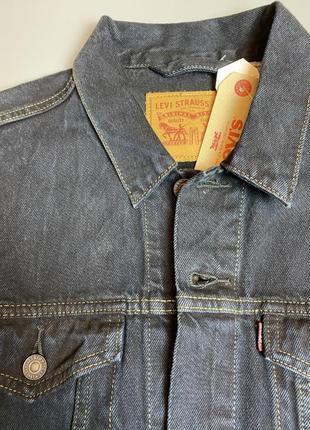 Levi's  джинсовая куртка пиджак s l