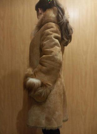 Дубленка мех лиса