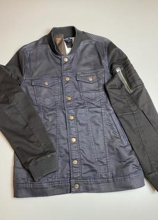 Guess джинсовая куртка джинсовый пиджак xl