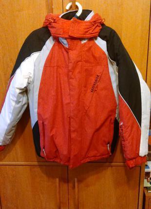 Куртка зимняя для  девочки, р. 134-140
