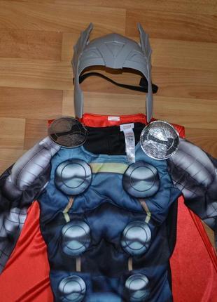 Карнавальный костюм тор на 5-6 лет, костюм супергероя