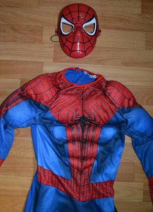 Карнавальный костюм человек паук на 8-9 лет, 9-10 лет