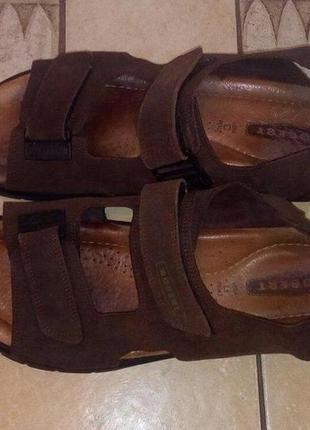 Мужские сандалии кожаные robert, размер 47-48