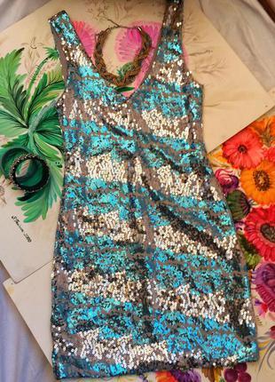 Дизайнерское платье с паеток as u wish