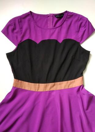 Красивое платье миди dorothy perkins