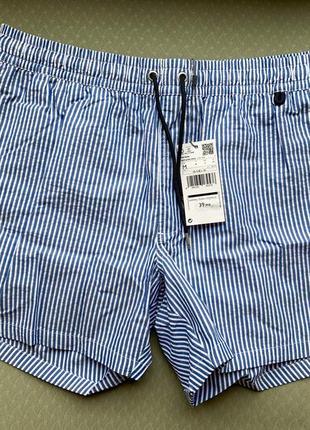 Пляжні шорти чоловічі в полоску, літні шорти.