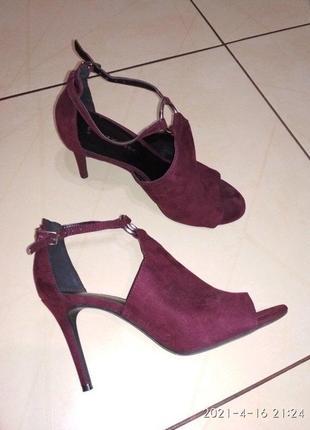 Шикарные туфли босоножки new look 5/38