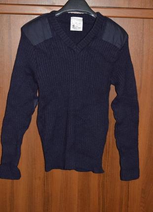 Шерстяной свитер английской полиции .