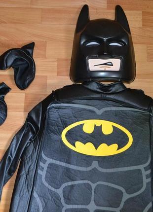 Карнавальный костюм бетмен на 8-9 лет, 9-10 лет, бетмен лего