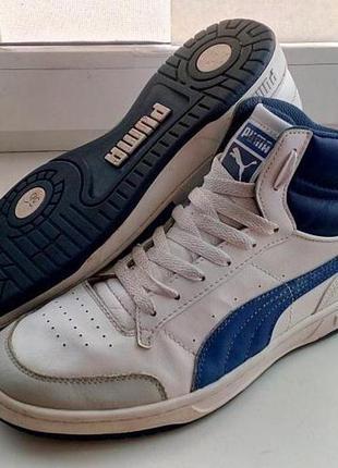 Puma full court осенние кожаные кроссовки сникерсы оригинал
