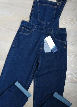 Новый джинсовый комбинезон stradivarius