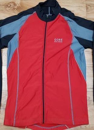 Велосипедная теплая кофта куртка gore bike wear размер м
