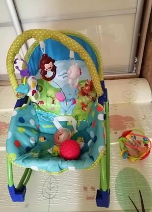 Шезлонг кресло качалка