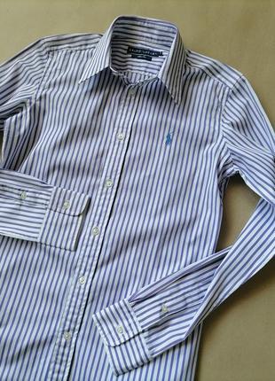 Ralph lauren рубашка базовая размер xs