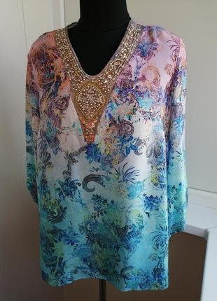Винтажная блуза madeline