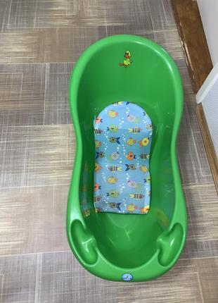 Детская ванночка и лежак