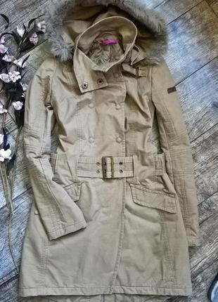 Новая,стильная длинная куртка,парка на демисезон от cane&cane -м-l-ка