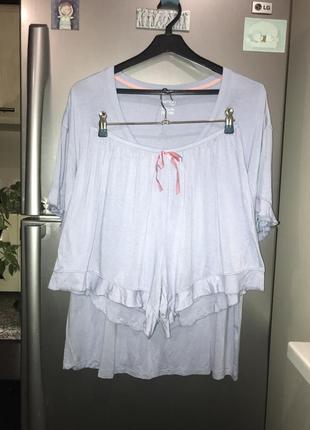 Пижама піжама шорты футболка