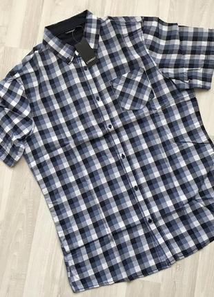 Рубашка с коротким рукавом шведка livergy.