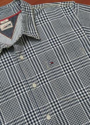 Рубашка с коротким рукавом tommy hilfiger.