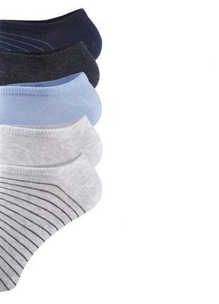 Пять пар! набор! носки livergy германия размеры: 39/42, 43/46 хлопковые