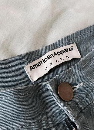Светлые джинсы american apparel