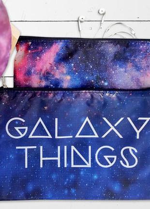 Комплект косметичек double (2 шт) galaxy things (k2d_21m013_tsi)