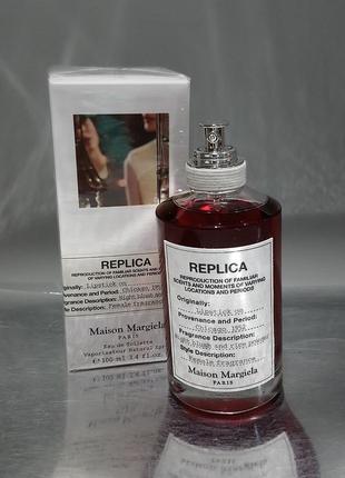 Maison margiela replica lipstick on парфюмированная вода пробник dancing on the moon