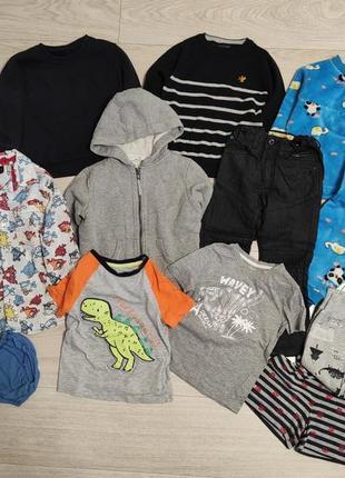Пакет набор вещей для мальчика 3-4-5 лет 98-104-110