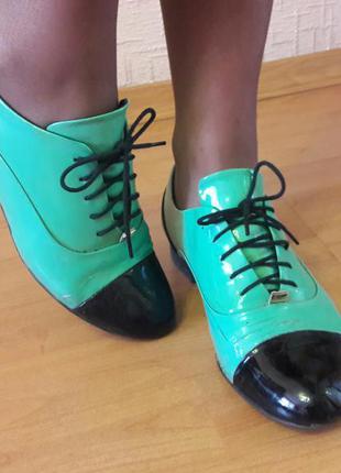 Туфли фирменные  luciano carvari