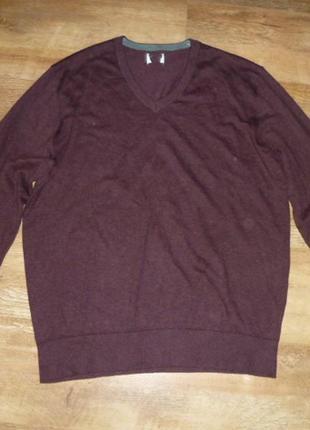 Tcm tchibo стильный мужской пуловер , джемпер , р xl