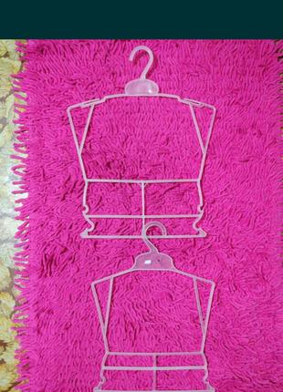 Вешалка тремпель рамка большая и маленькая для детской одежды