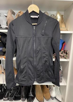 Спортивная кофта куртка adidas stella mccartney оригинал черная стильная