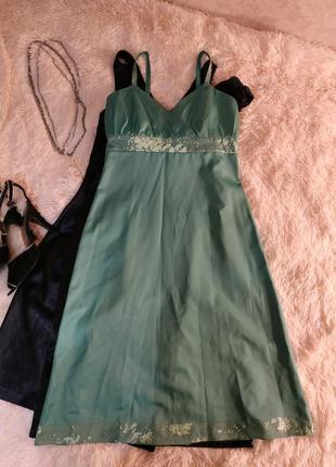 Атласна сукня handmade