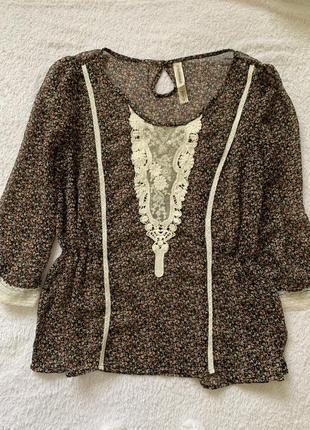 Блуза springfield идеальное состояние размер s