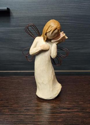 Коллекционная фигурка в форме ангела, willow tree 2004 год.