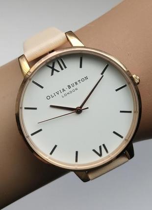 Olivia burton оливия бартон часы кожа сталь механизм japan