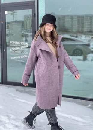 Пальто подросток 146-164