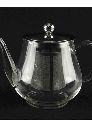 Заварник (чайник заварочный) а-плюс стекло 650 мл