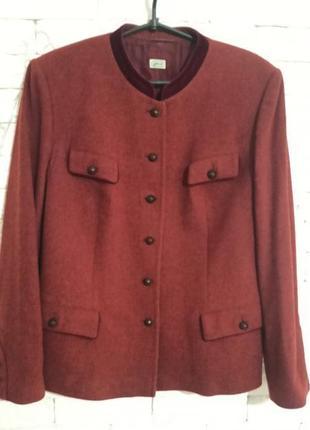 Суперський шерстяний тренч піджак з підкладкою з шовку пальтішко gossl gossard