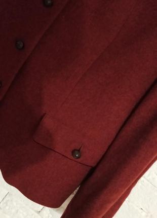 Суперський шерстяний тренч піджак з підкладкою з шовку пальтішко gossl gossard4 фото