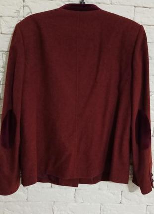 Суперський шерстяний тренч піджак з підкладкою з шовку пальтішко gossl gossard3 фото