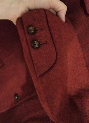 Суперський шерстяний тренч піджак з підкладкою з шовку пальтішко gossl gossard6 фото