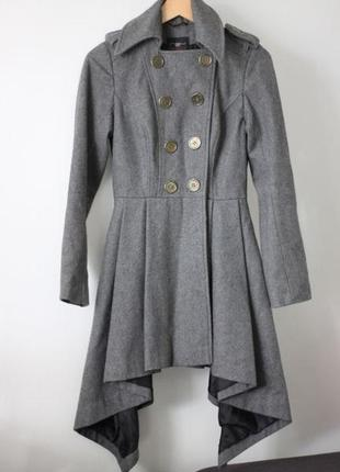 Шерстяное пальто new look