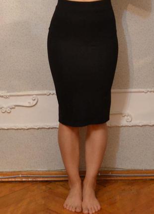 Базовая юбка миди stradivarius