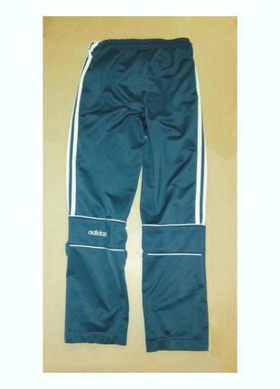 """Штаны спортивные цвета морской волны """"adidas""""."""