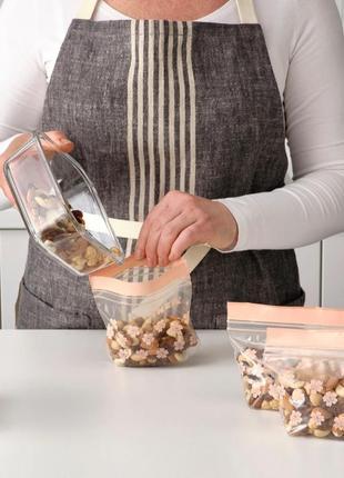 Набор герметичных пакетов ikea